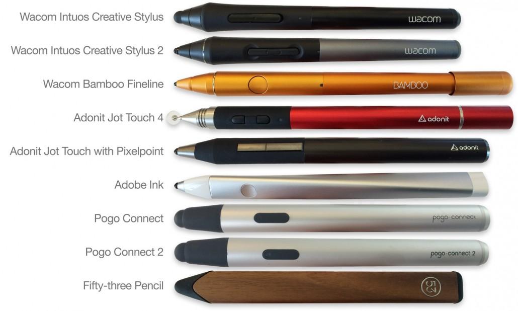Pressure-sensitive Pens